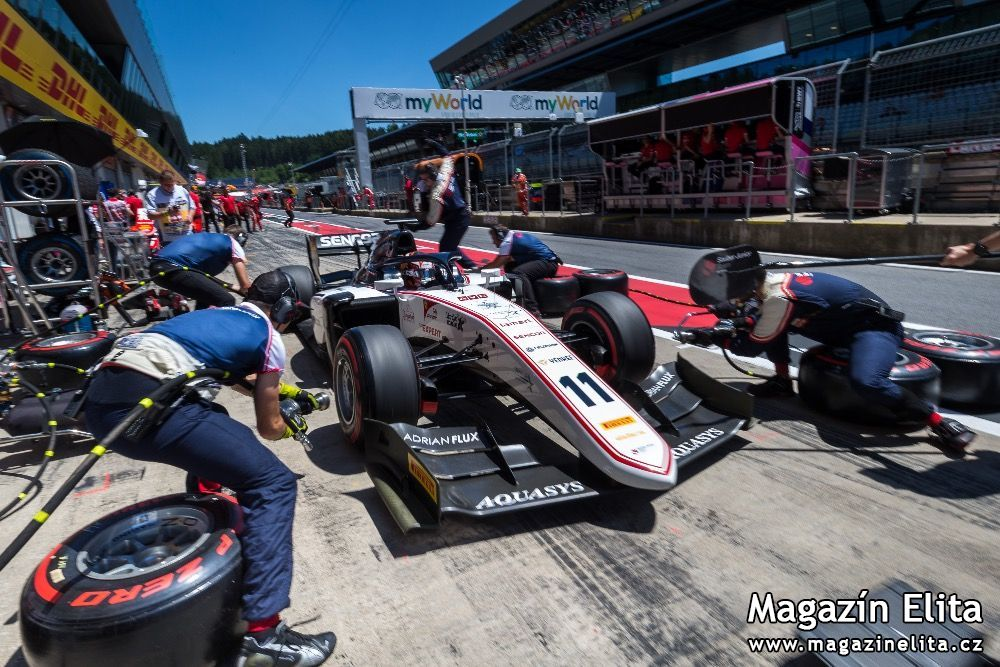 Formule 2: Sauber Junior Team by Charouz se chystá do Silverstone